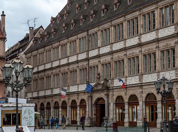 Straßburg Grande Île: Place Gutenberg - Neue Bau