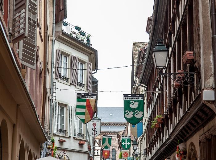 Straßburg Grande Île: Rue des Orfèvres
