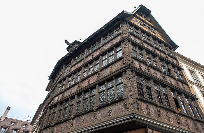 Straßburg Grande Île: Place de la Cathédrale - Maison Kammerzell Rue des Orfèvres