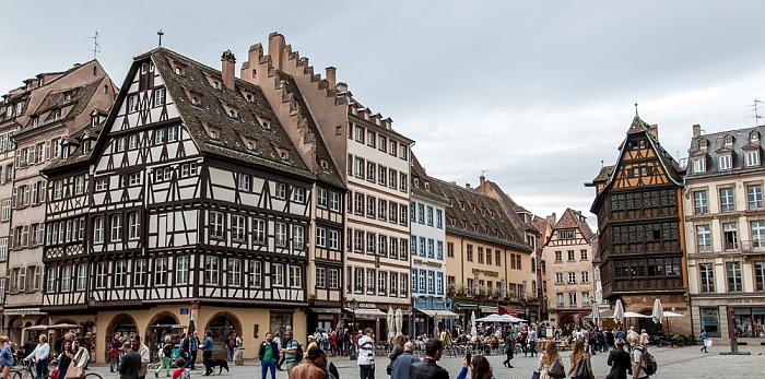 Straßburg Grande Île: Place de la Cathédrale Maison Kammerzell