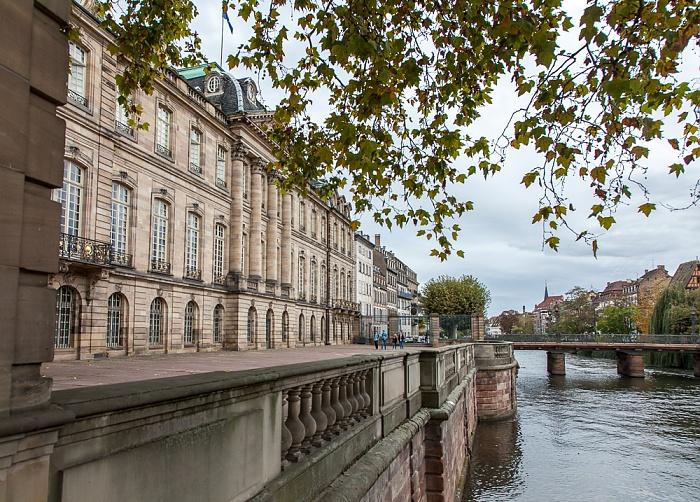 Straßburg Grande Île: Palais Rohan (Musée des arts décoratifs, Musée des beaux-arts und Musée archéologique) Ill Pont Sainte-Madeleine