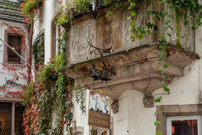 Straßburg Grande Île: Rue du Maroquin - Le Gruber