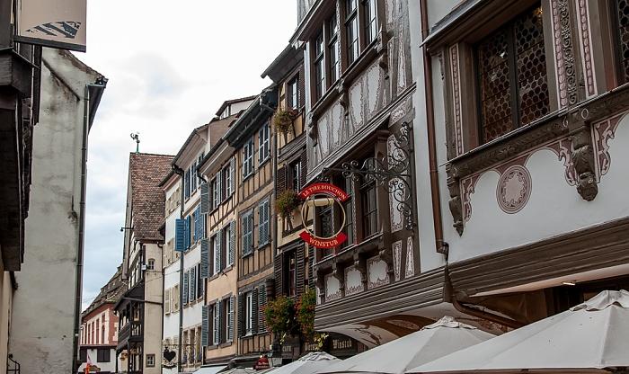 Straßburg Grande Île: Rue du Maroquin