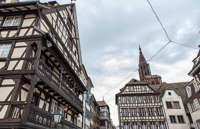 Straßburg Grande Île: Place du Marché aux Cochons de Lait Straßburger Münster