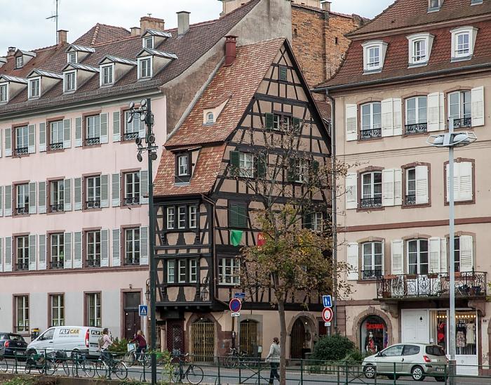Straßburg Quartier de la Krutenau: Quai des Bateliers
