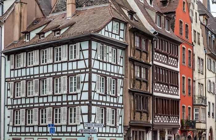 Straßburg Quartier de la Bourse: Quai Saint-Nicolas