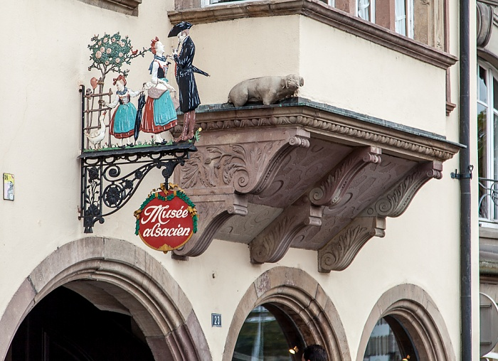 Straßburg Quartier de la Bourse: Quai Saint-Nicolas - Musée Alsacien