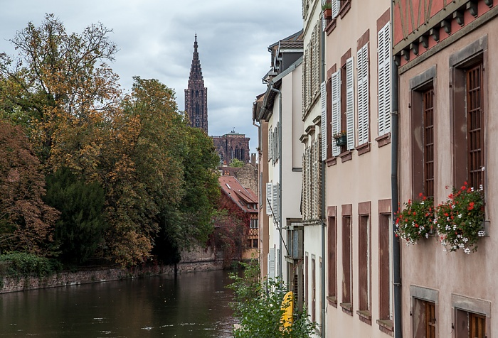 Straßburg Petite France, Ill Straßburger Münster