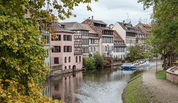 Straßburg Blick von der Pont Couverts: Ill, Petite France