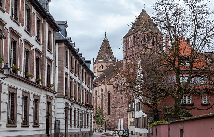 Straßburg Grande Île: Rue de la Monnaie, Église Saint-Thomas