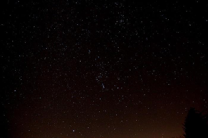Pfohren Nachthimmel über der Baar: Sterne