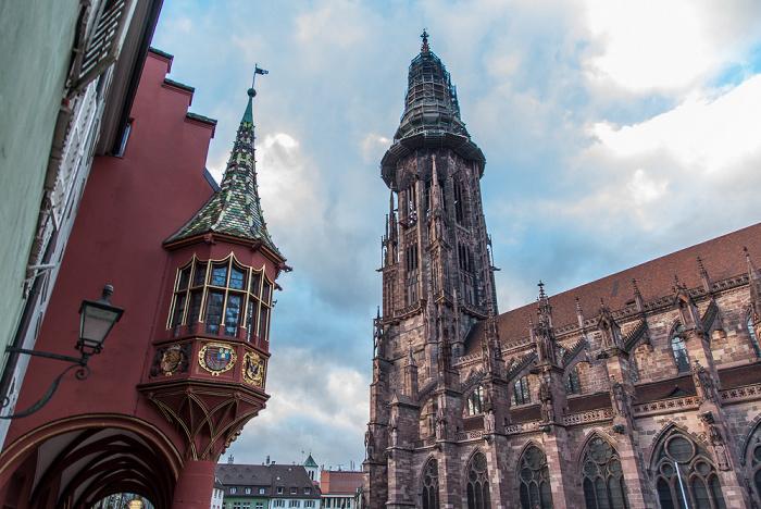Altstadt: Freiburger Münster Historisches Kaufhaus