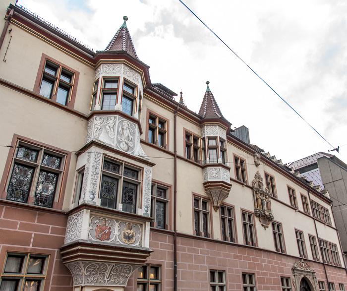 Altstadt: Kaiser-Joseph-Straße - Basler Hof (Sitz des Regierungsbezirks Freiburg)