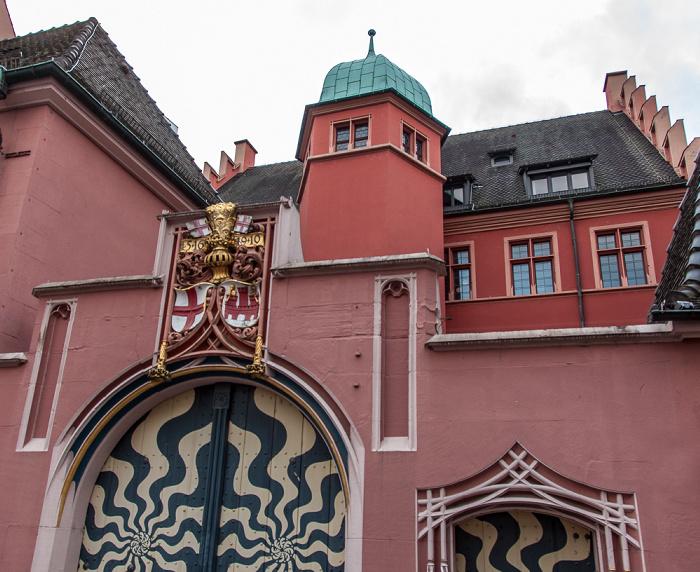 Freiburg Altstadt: Kartoffelmarkt - Haus zum Walfisch