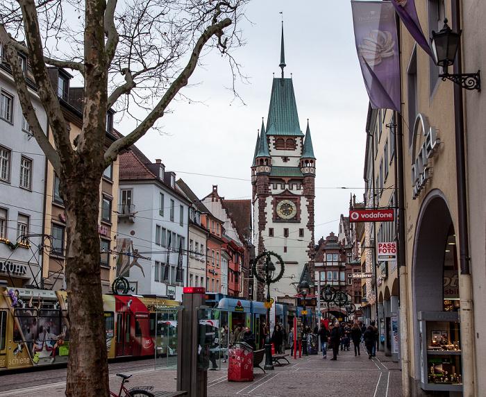 Freiburg Altstadt: Kaiser-Joseph-Straße, Martinstor