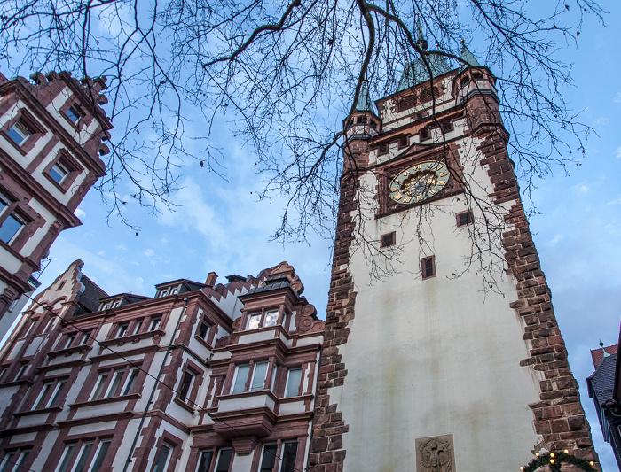 Freiburg Altstadt: Martinstor