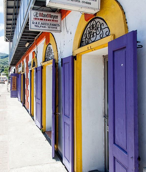 Victoria (Seychellen) Albert Street
