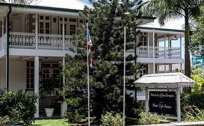 Victoria (Seychellen) Maison Quéau de Quinssy (Außenministerium)