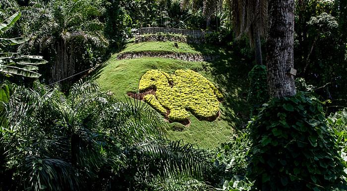 Victoria (Seychellen) Park an der Mont Fleuri Road (gegenüber vom National House)