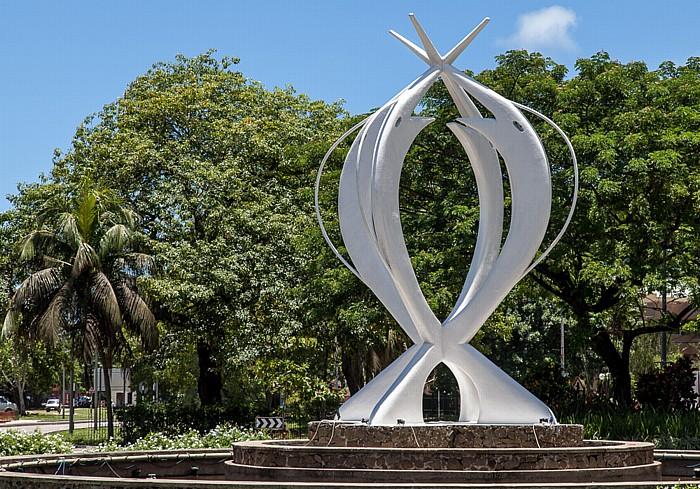 Victoria (Seychellen) Monument Fountain