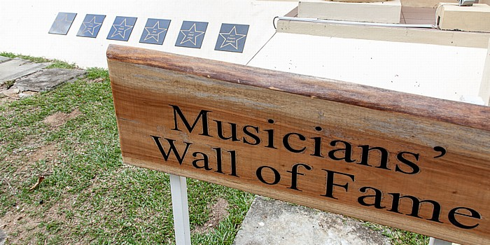 Victoria (Seychellen) National Library of the Seychelles: Musicans' Wall of Fame