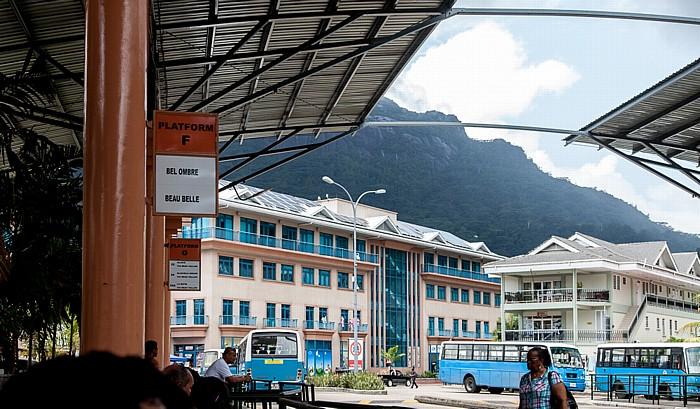 Victoria (Seychellen) Busbahnhof