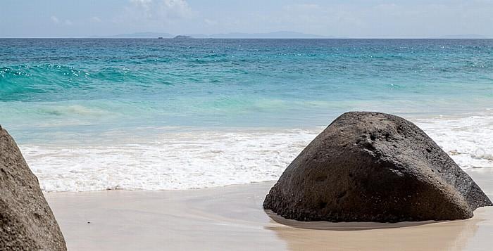 Mahé Carana Bay, Indischer Ozean