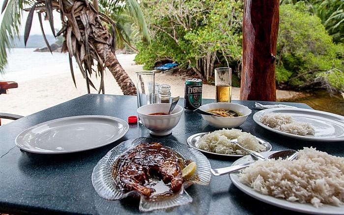 Mahé Anse Soleil: Restaurant
