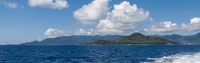 Indischer Ozean Fähre Victoria (Mahé) - Baie Sainte Anne (Praslin): Ste Anne (Ste Anne Marine National Park)