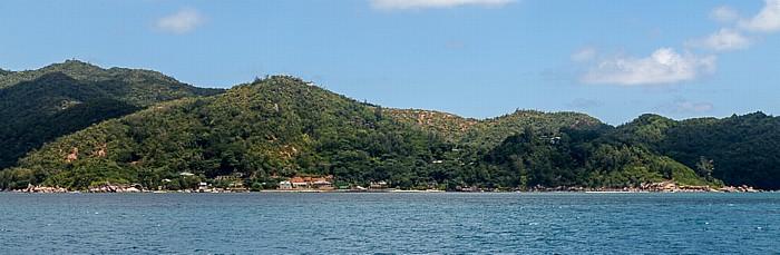 Indischer Ozean Fähre Victoria (Mahé) - Baie Sainte Anne (Praslin): Praslin