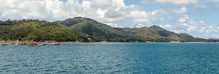 Fähre Victoria (Mahé) - Baie Sainte Anne (Praslin): Baie Sainte Anne