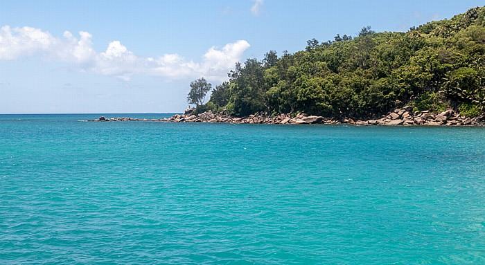 Fähre Baie Sainte Anne (Praslin) - La Passe (La Digue): Baie Sainte Anne