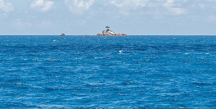 Indischer Ozean Fähre Baie Sainte Anne (Praslin) - La Passe (La Digue)