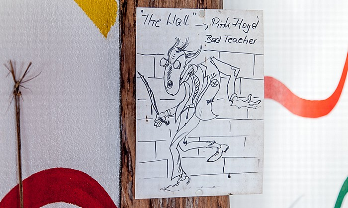 La Digue Belle Vue: Zeichnung des Teacher aus Pink Floyds The Wall
