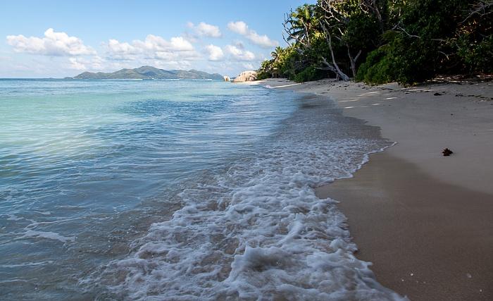 La Digue Anse Source d'Argent, Indischer Ozean