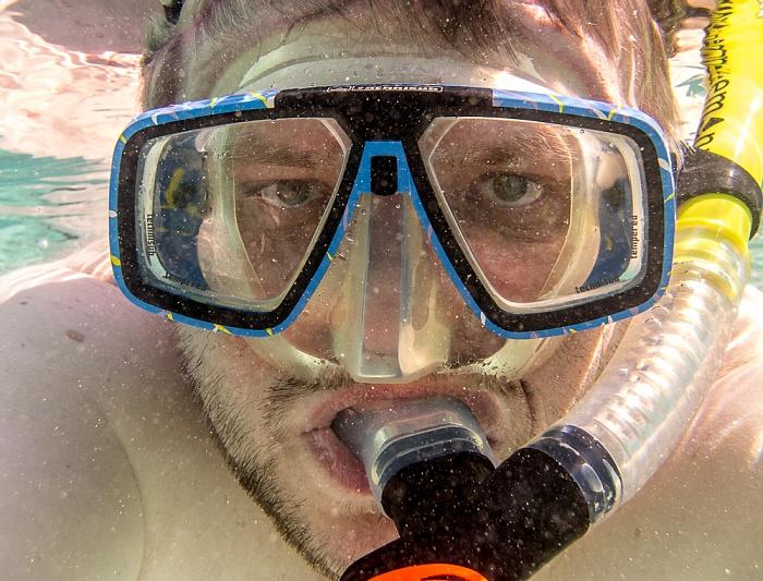 La Digue Indischer Ozean (Anse Source d'Argent): Jürgen aka Schnorchelbär