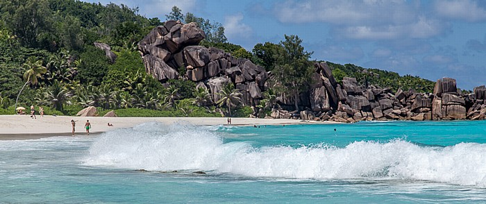 La Digue Grand Anse, Indischer Ozean