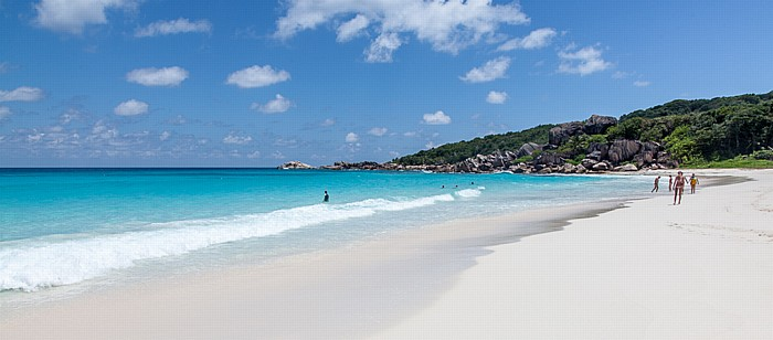 La Digue Grand Anse, Indischer Ozean