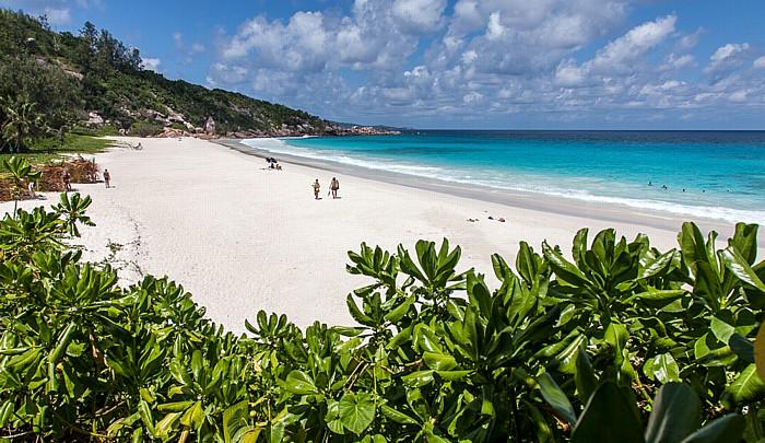 La Digue Petit Anse, Indischer Ozean