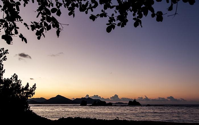 La Digue La Passe: Indischer Ozean, Praslin