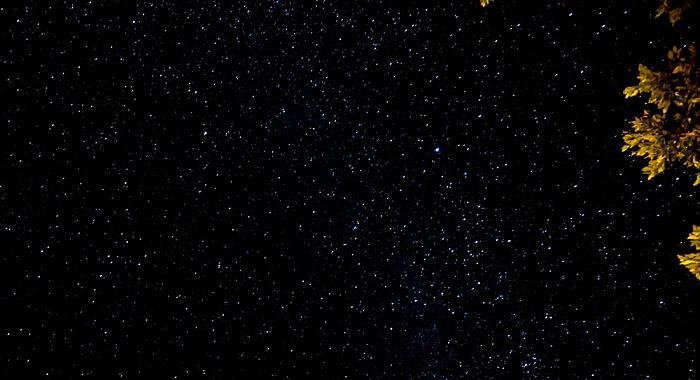 La Digue Südlicher Sternenhimmel