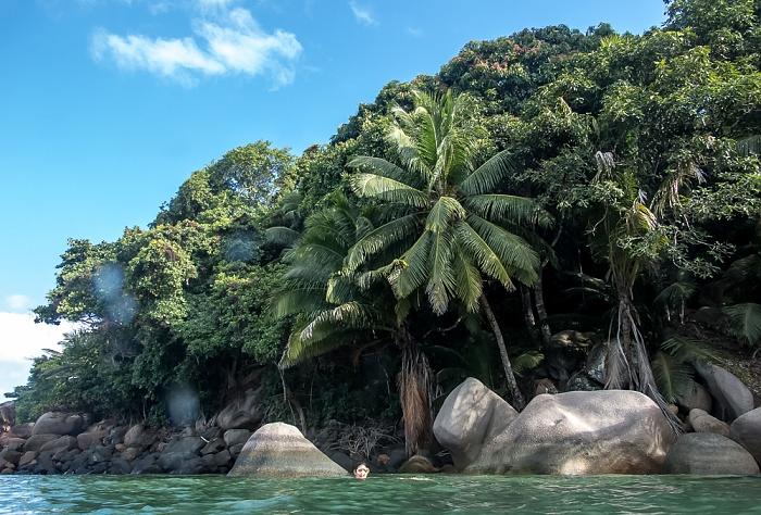 Praslin Baie Sainte Anne (Indischer Ozean)