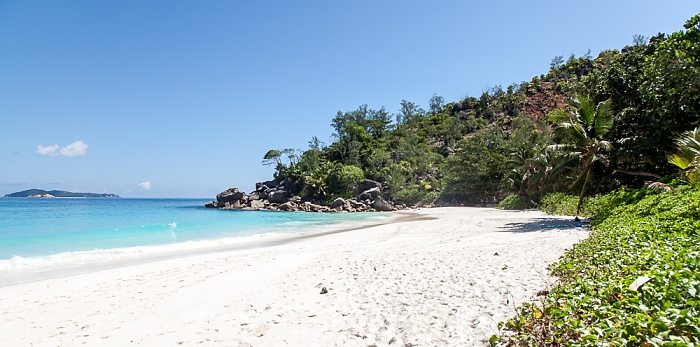 Praslin Anse Georgette, Indischer Ozean
