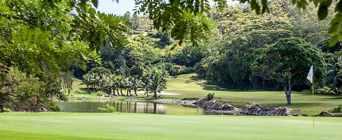 Lemuria Resort Of Praslin: Golfplatz