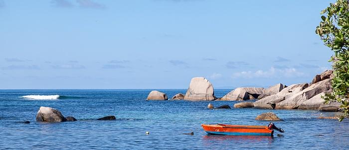 Praslin Anse Consolation, Indischer Ozean