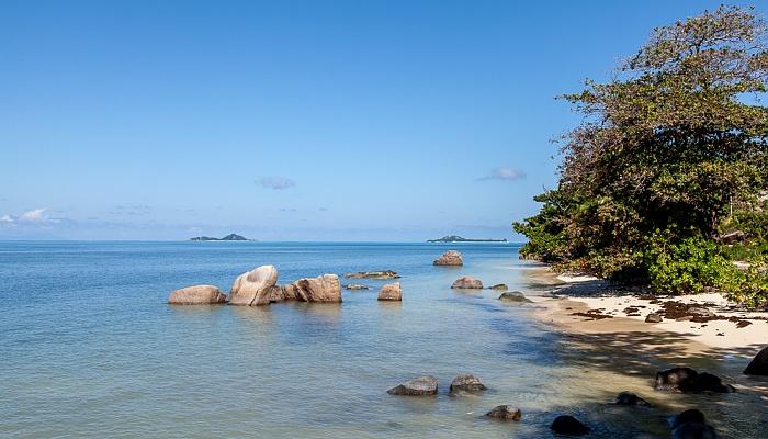 Praslin Anse Bateau, Indischer Ozean