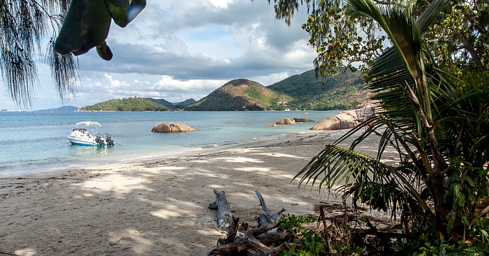 Praslin Anse Boudin, Baie Pasquiere (Indischer Ozean)