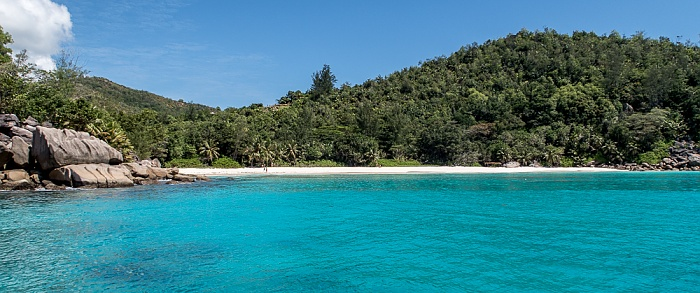 Indischer Ozean Praslin: Anse Georgette