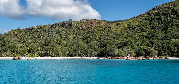Indischer Ozean Praslin: Baie Chevalier - Anse Lazio