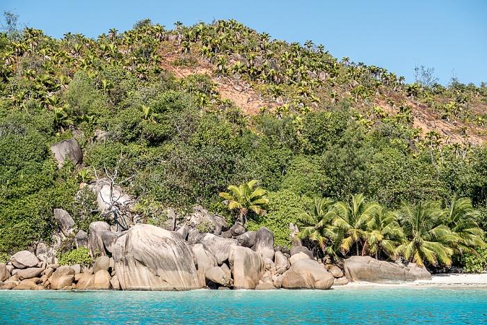 Indischer Ozean Praslin: Baie Chevalier